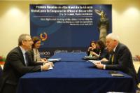 Participation d'Andris Piebalgs, membre de la CE, à la réunion de haut niveau du Partenariat mondial pour une coopération efficace au service du développement, Mexico, 14-15/04/2014