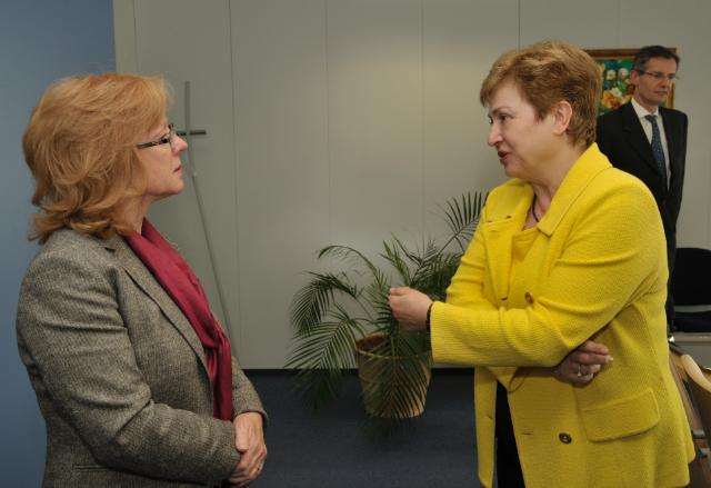 Visit of Conny Lenneberg, Regional Director of World Vision International for the Middle East, to the EC