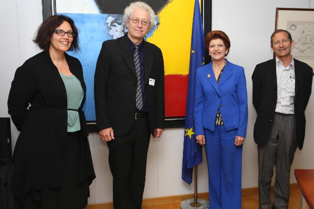 Visit of Bernard Foccroulle, Belgian composer, organist, opera director and General Director of the Festival d'Aix-en-Provence, to the EC
