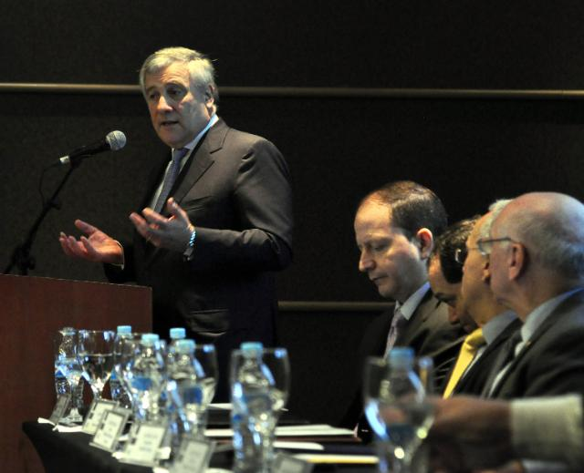 Visit by Antonio Tajani, Member of the EC, to Panama, Argentina and Paraguay