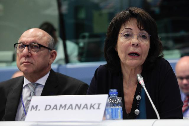 Participation of Maria Damanaki, Member of the EC, at the 'Re-energising the oceans' conference