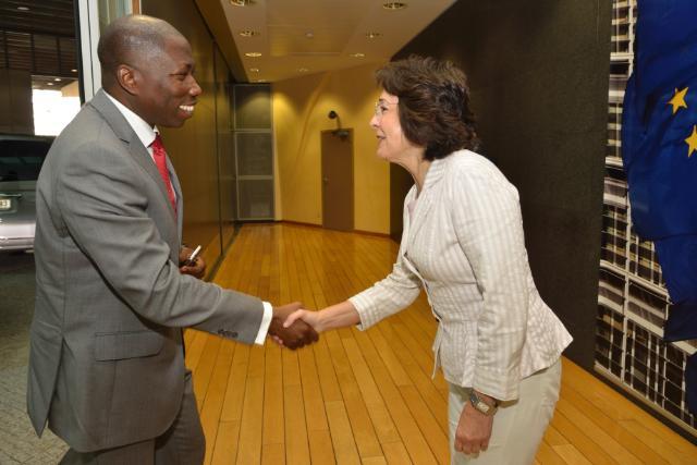 Visite de Domingos Simões Pereira, Premier ministre de Guinée-Bissau, à la CE