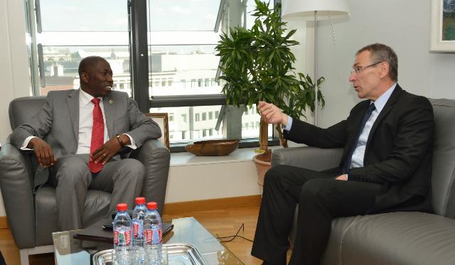 Visit of Domingos Simões Pereira, Prime Minister of Guinea-Bissau, to the EC