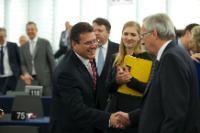 Participation of Maroš Šefčovič, Vice-President of the EC, in the EP plenary session