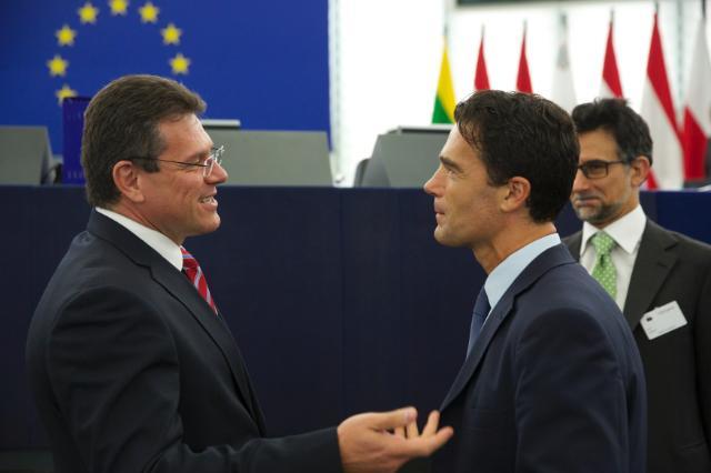 Participation de Maroš Šefčovič, vice-président de la CE, à la session plénière du PE