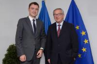 Meeting between Taavi Rõivas, Estonian Prime Minister, and Jean-Claude Juncker, President-elect of the EC