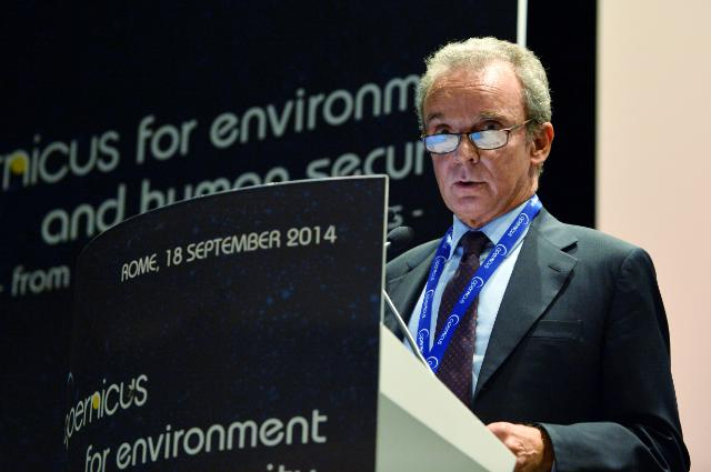 Participation of Ferdinando Nelli Feroci, Member of the EC, at the 'Copernicus for environment and human security' conference