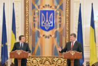 """Illustration of """"Visit of José Manuel Barroso, President of the EC, and Štefan Füle, Member of the EC, to Ukraine"""""""