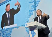 José Manuel Barroso à la tribune