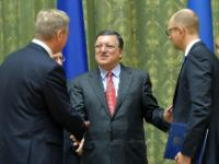 "Illustration of ""Visit of José Manuel Barroso, President of the EC, and Štefan Füle, Member of the EC, to Ukraine"""