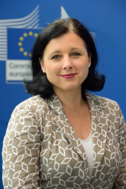 Vĕra Jourová, membre désignée de la CE