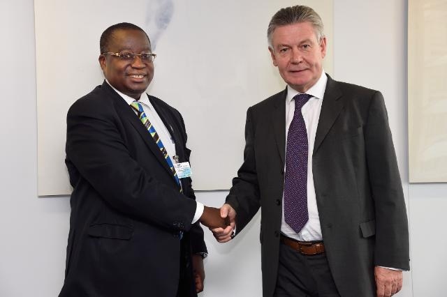 Visit of Diodorus Buberwa Kamala, Head of the Mission of Tanzania to the EU, to the EC