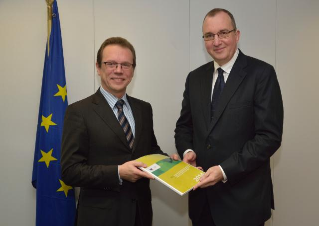 Visit of Igors Ludboržs, Member of the European Court of Auditors, to the EC