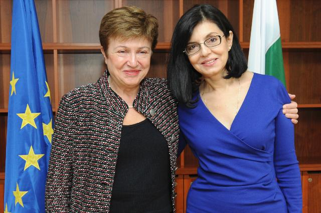 Visit of Meglena Kuneva, Bulgarian Deputy Prime Minister for European Policies Coordination and Institutional Affairs, to the EC