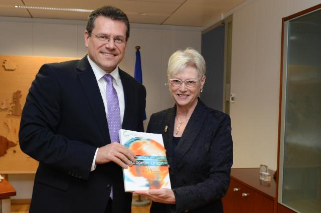 Visit of Maria van der Hoeven, Executive Director of the International Energy Agency, to the EC