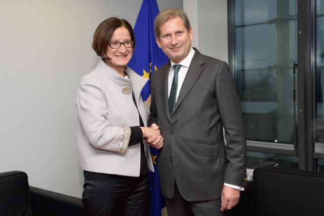 Visit of Johanna Mikl-Leitner, Austrian Federal Minister for the Interior, to the EC