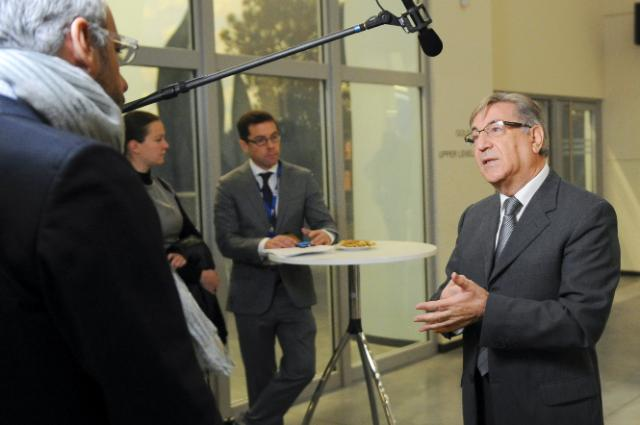 Participation of Karmenu Vella, Member of the EC, at the conference for the 40th anniversary of the EEB Europe at the crossroads: the Challenge of Environmental Sustainability