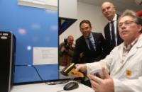 """Illustration of """"Visit of Jyrki Katainen, Vice-President of the EC, to Germany"""""""