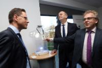 "Illustration of ""Visit of Jyrki Katainen, Vice-President of the EC, to Germany"""