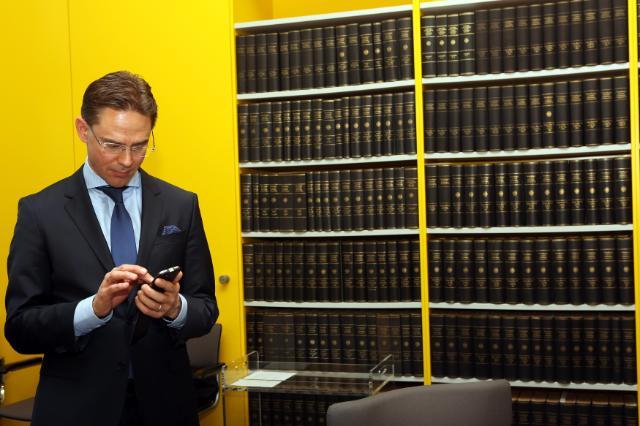 Visite de Jyrki Katainen, vice-président de la CE, en Allemagne