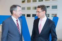 """Illustration of """"Visite de Jyrki Katainen, vice-président de la CE, en Allemagne"""""""