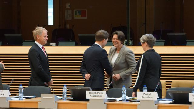 Exchange of views with the CEOs of the 20 largest European ports and Violeta Bulc, Member of the EC, on the ports policy