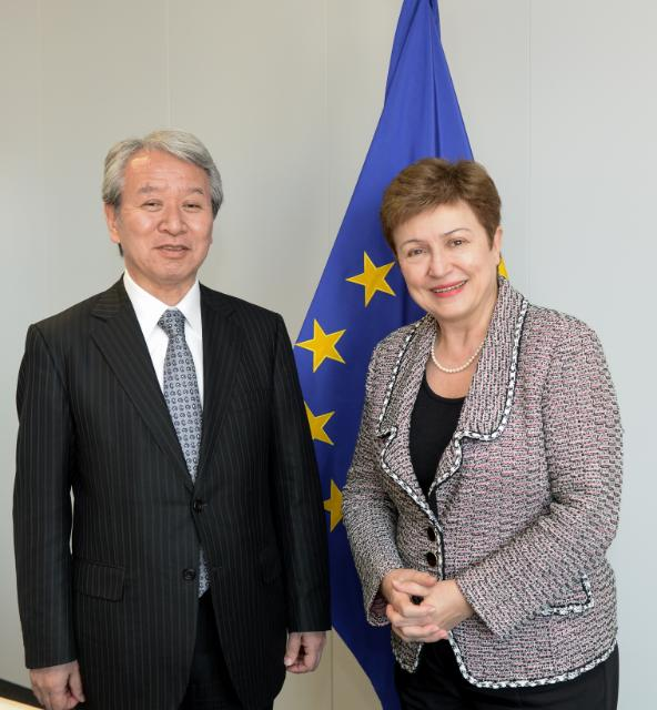 Visit of Akihiko Tanaka, President of the Japan International Cooperation Agency, to the EC