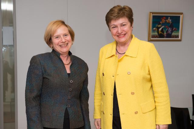 Visit of Marcie B. Ries, U.S. Ambassador to Bulgaria, to the EC