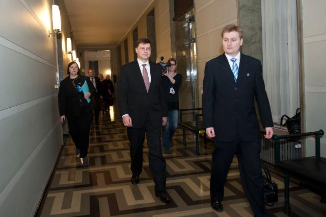 Visit of Valdis Dombrovskis, Vice-President of the EC, to Finland