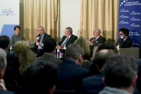 """Illustration of """"Participation of Jean-Claude Juncker, President of the EC, in the conference 'The Commission's leadership..."""