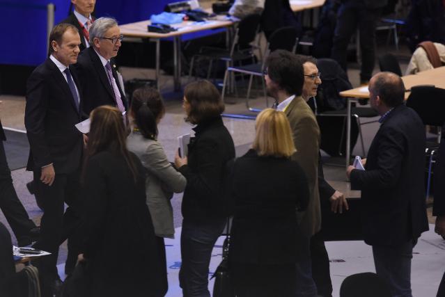 Conseil européen de Bruxelles, 19-20/03/2015