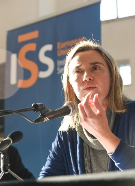 Participation of Federica Mogherini, Vice-President of the EC, in the EUISS Conference on 'The EU in a changed security environment'