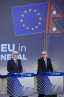 Joint press conference by Christos Stylianides and Neven Mimica, Members of the EC, on increasing the financial support for Nepal following the earthquake