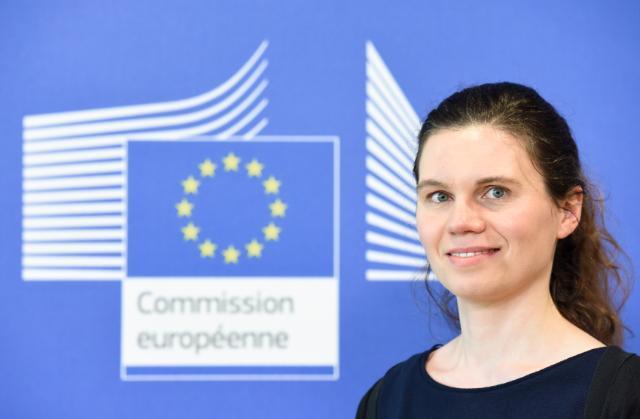 Nathalie Vandystadt, porte-parole pour le  marché unique numérique