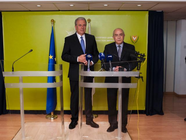 Visit of Dimitris Avramopoulos, Member of the EC, to Cyprus