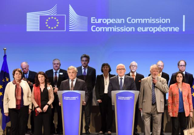 """Illustration of """"Visit of representatives from philosophical and non-confessional organisations to the EC"""""""