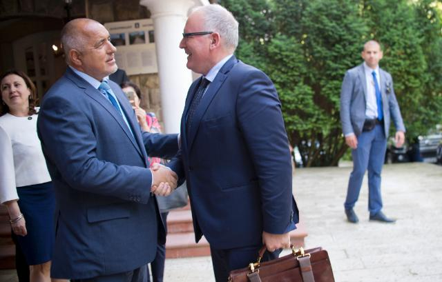 Visit by Frans Timmermans, First Vice-President of the EC, to Romania and Bulgaria