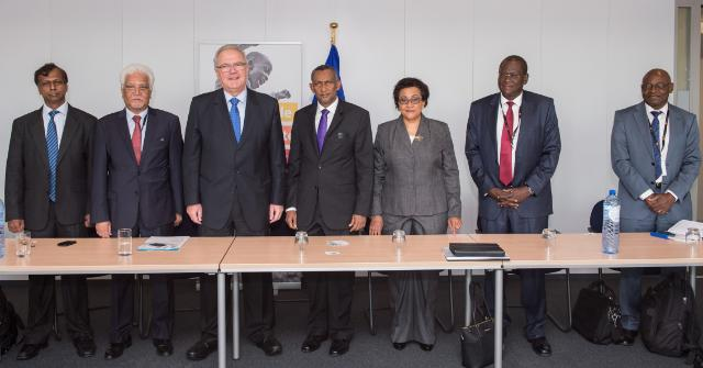 Visit of the EC of the Secretary Generals and the Executive Secretaries of the Duly Mandated Regional Organisations of East Africa, South African and the Indian Ocean