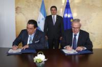 Signature of three Financing Agreements with Honduras