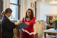 Visite de Cecilia Malmström, membre de la CE, aux Etats-Unis