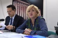 Visit of Corina Creţu, Member of the EC, to Greece