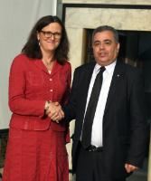 Visit by Cecilia Malmström, Member of the EC, to Tunisia