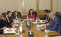 Visit by Cecilia Malmström, Member of the EC, to Tunisia