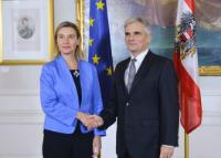 Visit of Federica Mogherini, Vice-President of the EC, to Austria