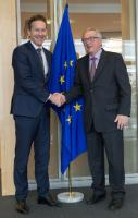 Visit of Jeroen Dijsselbloem, Dutch Minister for Finance and President of the Eurogroup, to the EC