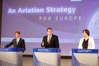Conférence de presse conjointe de Maroš Šefčovič, vice-président de la CE, et Violeta Bulc, membre de la CE, sur la stratégie aérienne