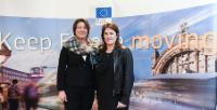 Participation of Violeta Bulc, Member of the EC, at the event closing the awareness raising and information campaign on Passenger Rights, at the Brussels Midi Station