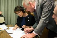 Visit by Marianne Thyssen, Member of the EC, to Greece