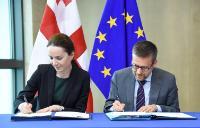 Signature ceremony of the Horizon 2020 Association Agreement with Georgia