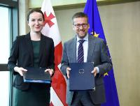 Signature ceremony of the Horizon 2020 Association Agreement with Georgia